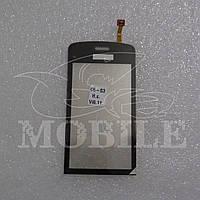 Сенсор Nokia C5-03/C5-06 black h.c.