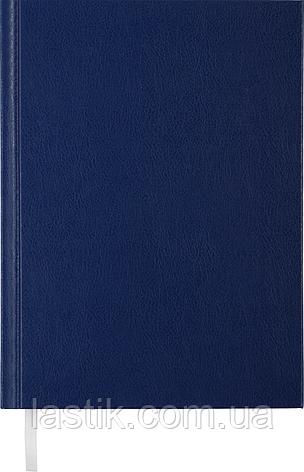 Щоденник недат STRONG L2U A5 синій бумвініл, фото 2