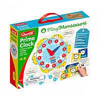 """Навчальний ігровий набір серії """"Play Montessori"""" - ПЕРШІ ГОДИНИ (стрілки, 24 фішки, картки), 0624-Q"""