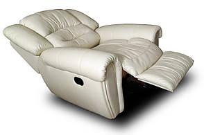 Кресло реклайнер SHEFFIELD, механика или качалка