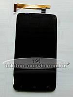 Дисплей HTC S720e One X, HTC  X325 One XL , HTC G23  с тачскрином, черный