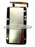 Дисплей HTC S720e One X, HTC X325 One XL , HTC G23 з тачскріном, чорний, фото 2