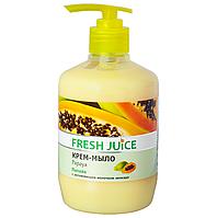 /Креммыло жидкое FRESH JUICE 460 мл с увлажняющим молочком авокадо Papaya