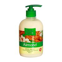 /Креммыло жидкое FRESH JUICE 460 мл с увлажняющим миндальным молочком Almond