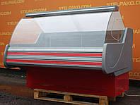 Низкотемпературная витрина «Технохолод Невада» 1.6 м. (Украина), морозильная, Б/у, фото 1