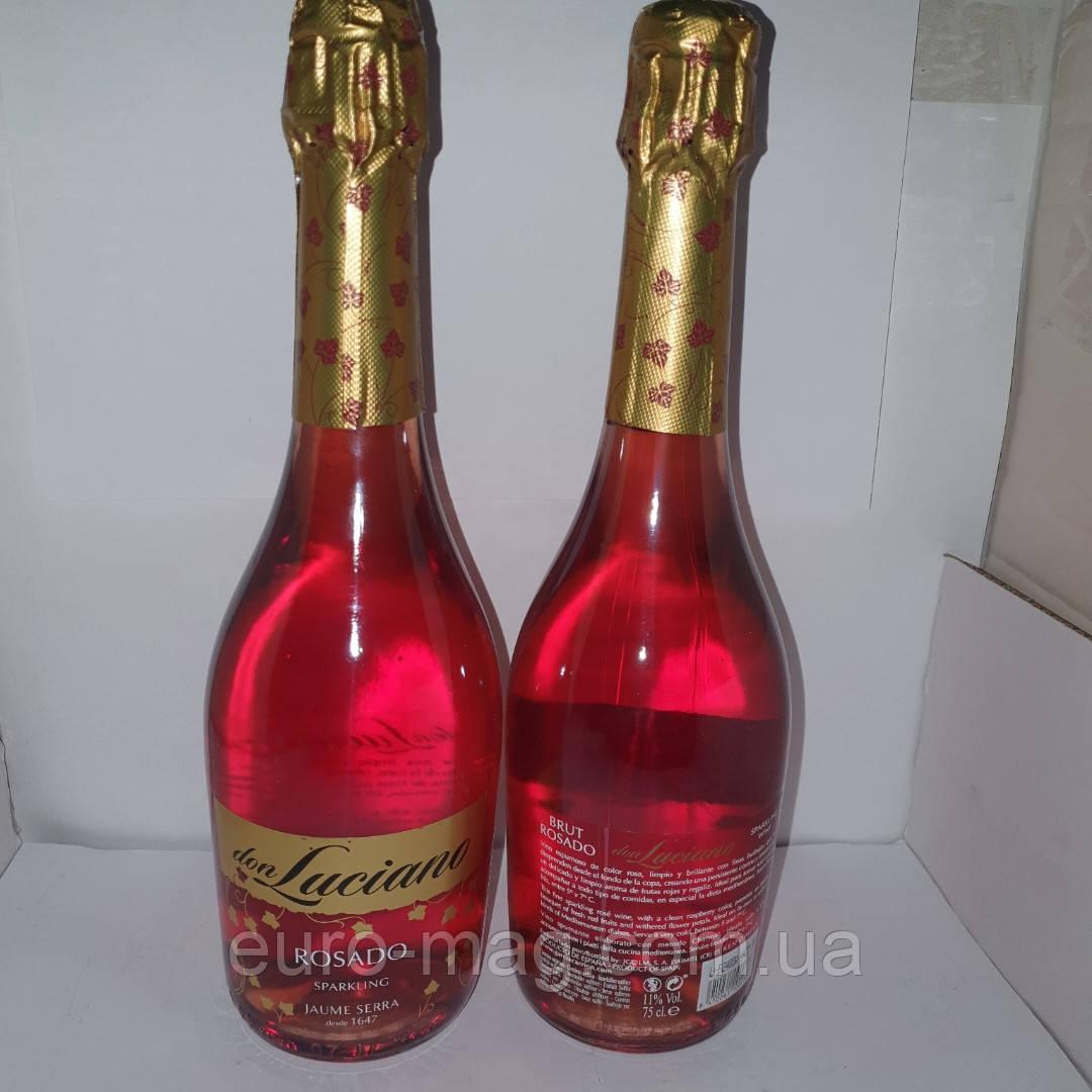 Don Luciano Charmat Brut Шампанское Дон Лучиано  Брют Розе 12 % 0.75 л