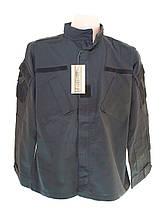 Кітель чорний поліцейський ACU MIL-TEC Ріп-Стоп Black 11925002