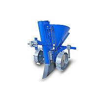 Картоплесаджалка КСМ-2 EXPERT (ланцюгова, бункер для добрив, транспорт. колеса)