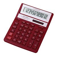 /Калькулятор SDC888 ХRD 12разр красный