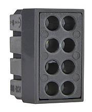 Будівельно-монтажні клеми для розподільних коробок на 8 проводів.
