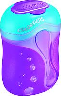 @$Точилка с контейнером COLOR PEPS 2 отв дисплей ассорти