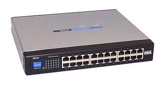 Коммутатор сетевой Linksys SR224 24-портовый 10/100 Switch