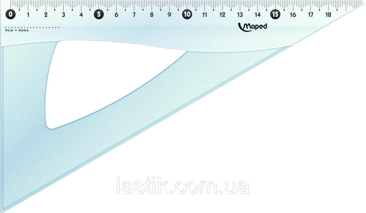 Угольник ESSENTIALS 60гр/210мм пластик дисплей