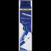 #$Набор карандашей PROFESSIONAL MIX синий корпус карт коробка 6 шт
