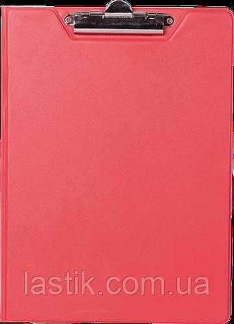 $Клипбордпапка А4 PVC красный, фото 2