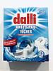 Серветки для захисту кольору Dalli для прання білих тканин, 15 шт