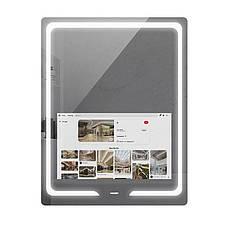 SMART дзеркало S30, 90x70 см з сенсорним екраном 21,5 дюйма, бездротові ваги - аналізатор тіла, фото 3