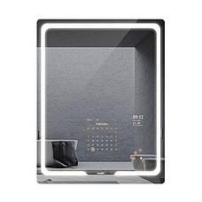 SMART дзеркало S30, 90x70 см з сенсорним екраном 21,5 дюйма, бездротові ваги - аналізатор тіла, фото 2