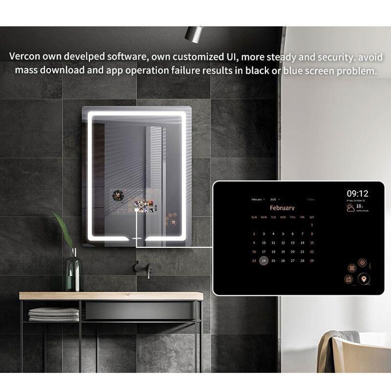 SMART дзеркало S30, 90x70 см з сенсорним екраном 21,5 дюйма, бездротові ваги - аналізатор тіла