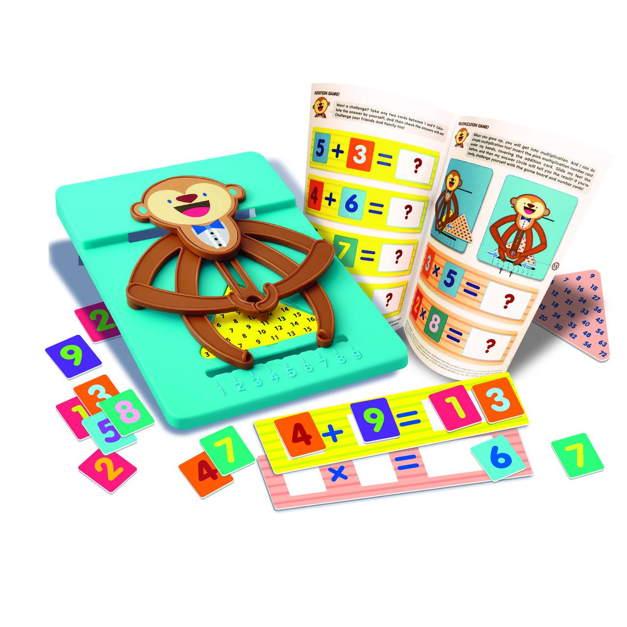STEAM-набор 4М Обезьянка-математик сложение, умножение, арифметика для детей от 4-х лет 4М