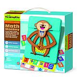 STEAM-набор 4М Обезьянка-математик сложение, умножение, арифметика для детей от 4-х лет 4М, фото 2