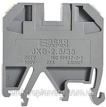 Клеммник JXB 10/35 серый
