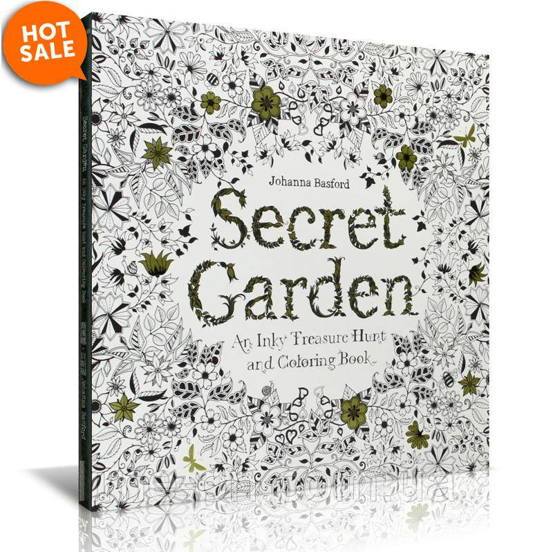 раскраска книга антистресс Secret Garden продажа товаров по выгодным ценам доставка по всей территории украины товары для детей интернет магазин