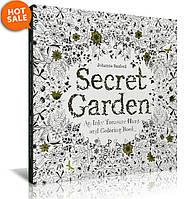 Раскраска книга антистресс, Secret Garden, фото 1
