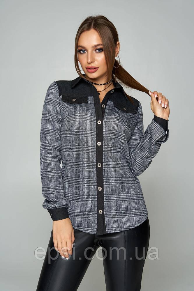 Рубашка женская Arizzo AZ-223 (черный) S (99016656)