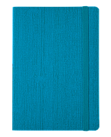 #Блокнот деловой COLOR TUNES А5 96 л нелинов бирюзовый исккожа