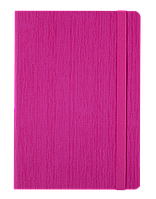 #Блокнот деловой COLOR TUNES А5 96 л нелинов розовый исккожа
