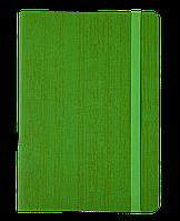 #Блокнот деловой COLOR TUNES А5 96 л нелинов салатовый исккожа