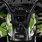 Детский одноместный электромобиль квадроцикл Bambi M 4081EBLRS-18 с пультом управления / крашеный Камуфляж **, фото 3