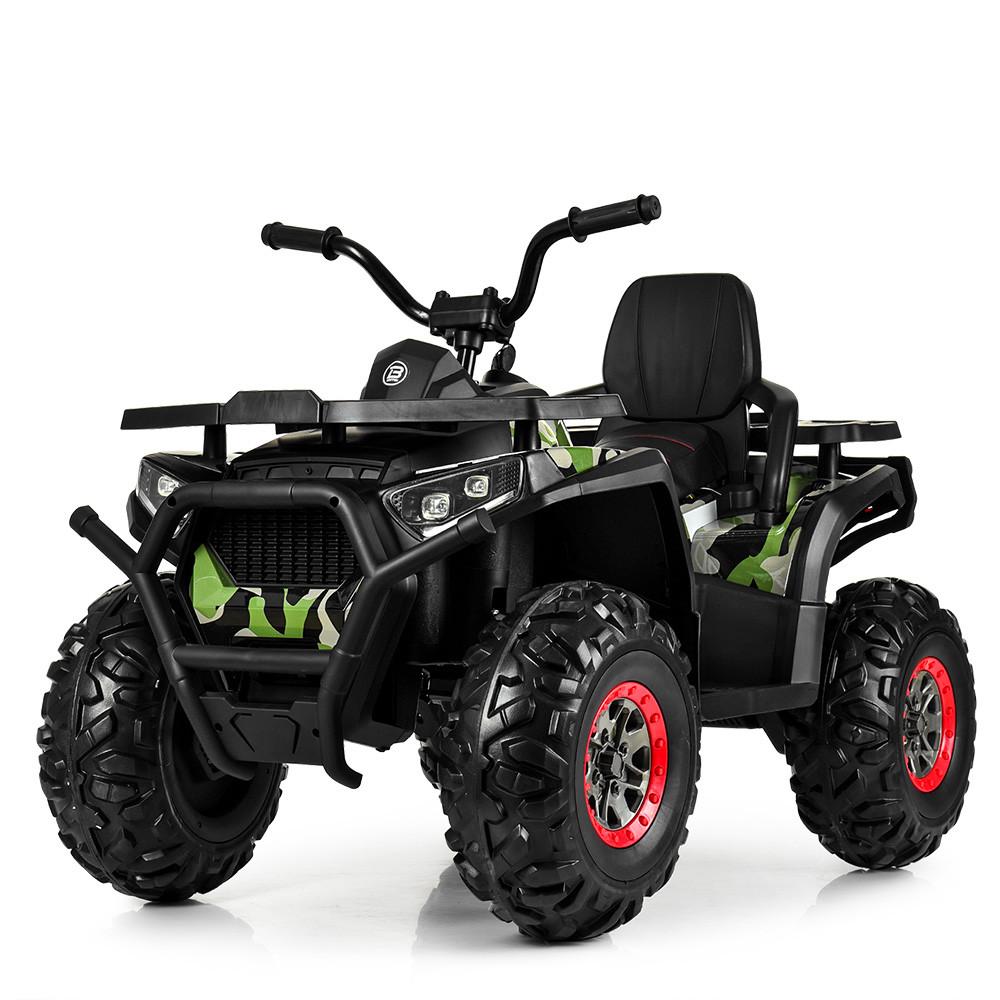 Детский одноместный электромобиль квадроцикл Bambi M 4081EBLRS-18 с пультом управления / крашеный Камуфляж **