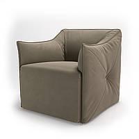 Кресло мягкое для кафе, бара, ресторана, отеля, офиса, лаунж, HoReCa, бежевый