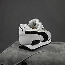 """Кроссовки Puma Future Rider """"Белые/Черные"""", фото 2"""