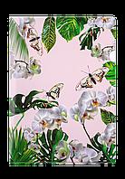 Папкауголок А4 ORHID ARABESKI белая