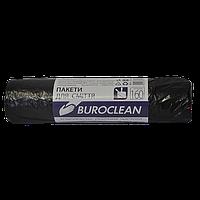 /Пакеты для мусора 160л/10шт черные BuroClean ECO