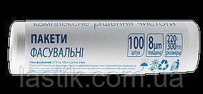 /Пакет фасовочный 22*30 см 100 шт в рулоне 8 мкм