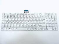 Клавиатура для Toshiba Satellite L850, L855, L870, L875, C850, C855, C870, C875 ( RU White с рамкой).