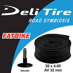 Камера для фэтбайка Deli Tire 26 х 4.0 AV 33 мм