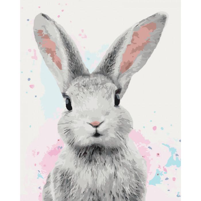 Картина по номерам 40×50 см. Идейка (без коробки) Сахарный кролик (КНО 4067)