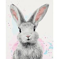 Картина по номерам 40×50 см. Идейка (без коробки) Сахарный кролик (КНО 4067), фото 1