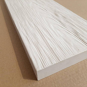 Террасная плитка Coping Доска белая 60х20х3,5 см