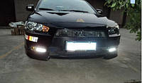 Штатные дневные ходовые огни (DRL) для Mitsubishi Lancer X T1