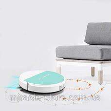 Смарт робот пилосос Ximei Smart Robot 14+ компактний розумний пилосос на акумуляторі, фото 2