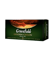 /Чай черный 2г*25 пакет Golden Ceylon GREENFIELD