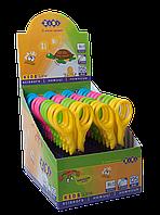 ^Ножницы детские FANTASY125 мм в картонном дисплее цвета ручек ассорти KIDS Line