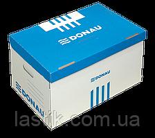 Короб для архивных боксов синий