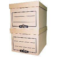 #Короб для архивных боксов RKive Basics коричн